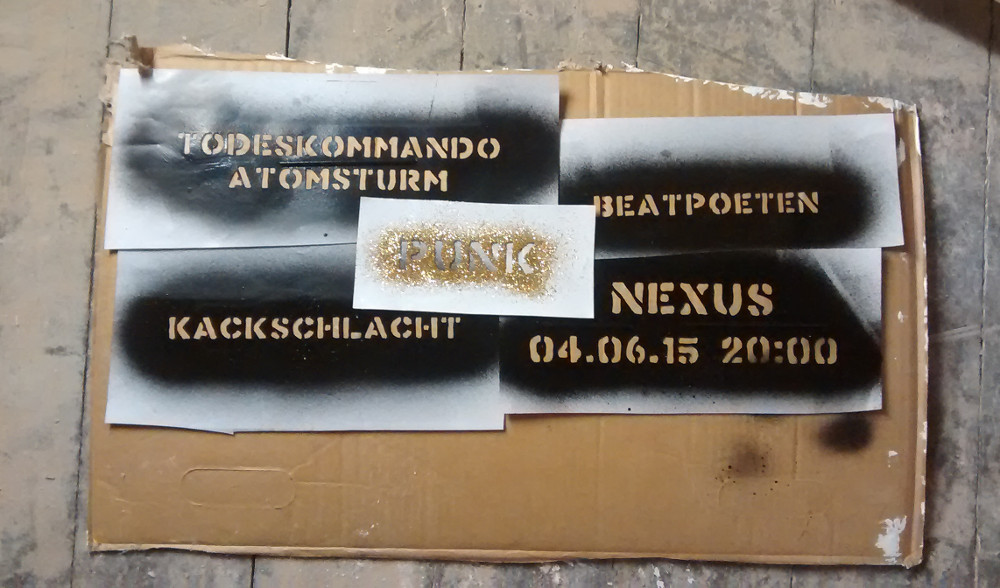 Konzert 04.06.2015 Todeskommando Atomsturm + Kackschlacht + Beatpoeten